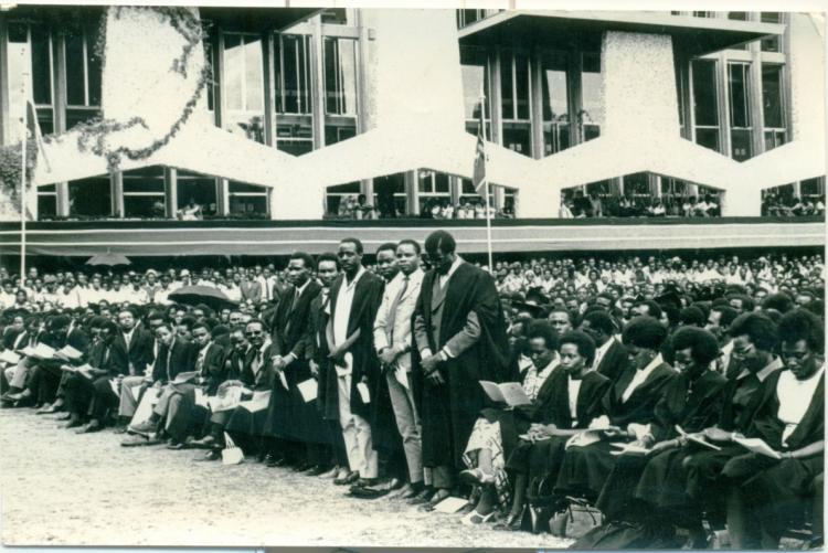 1970 Graduation